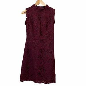 Ted Baker London Latoya Oxblood Lace Dress NWT